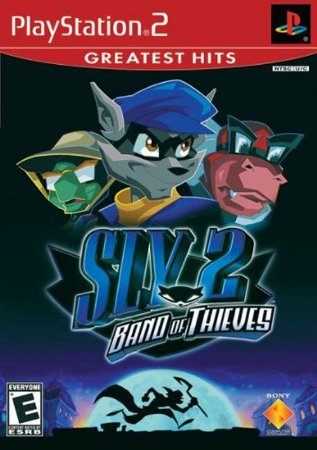 PS2 Sly 2 - Band of Thieves