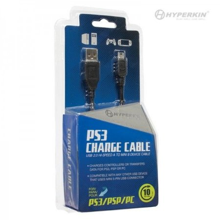 PS3 Cable Charge Hyperkin