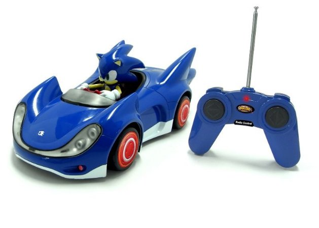 Radio Control Sonic - Sonic & Sega All-Stars Racing - Nkok