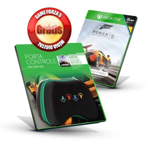 XONE Porta Controle Xbox One + Jogo Forza 5 por Download