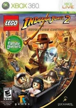 X360 Lego Indiana Jones 2 - The Adventure Continues