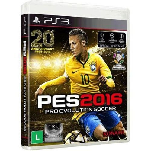 PS3 PES 2016 - Pro Evolution Soccer
