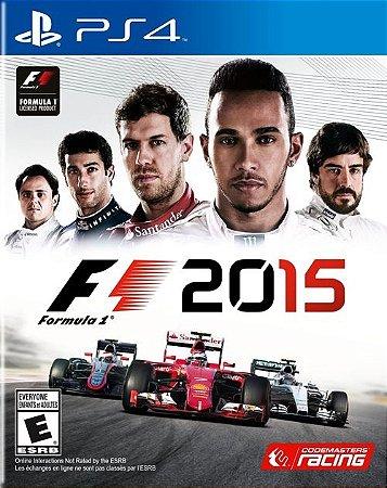 PS4 Formula 1 2015