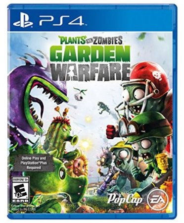 PS4 Plants vs Zombies - Garden Warfare