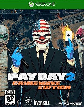 XONE Payday 2 - Crimewave Edition