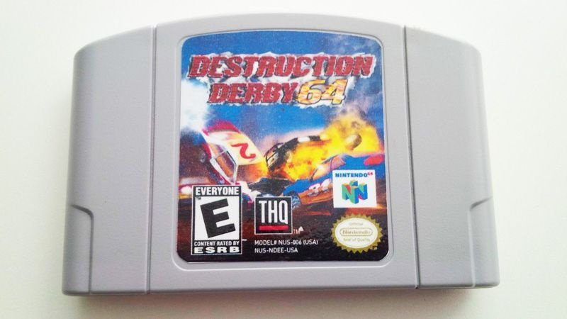 N64 Destruction Derby 64 (usado)