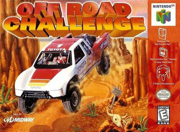 N64 Off Road Challenge (usado/relabel)