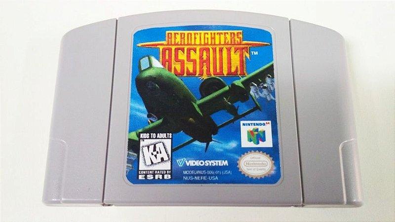 N64 Aerofighters Assault (usado)