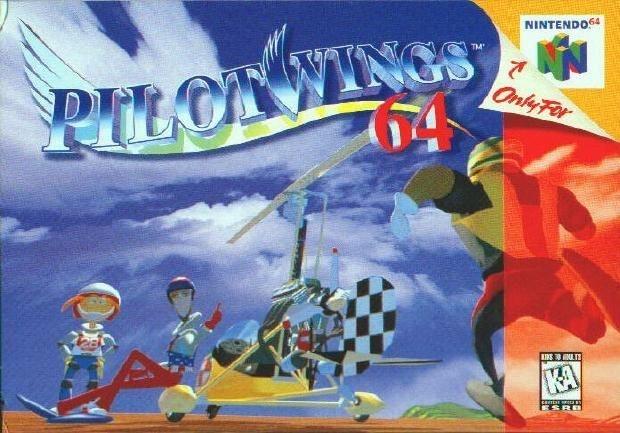 N64 Pilotwings 64 (usado)
