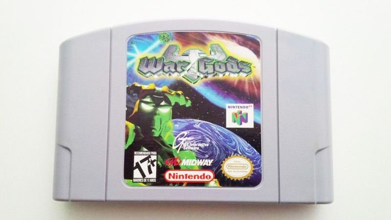 N64 War Gods (usado)