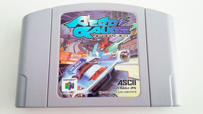 N64 Aero Gauge (usado)