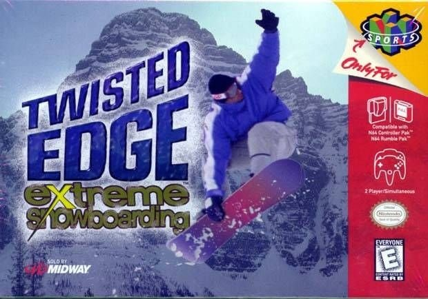 N64 Twisted Edge - Extreme Snowboarding (usado/relabel)