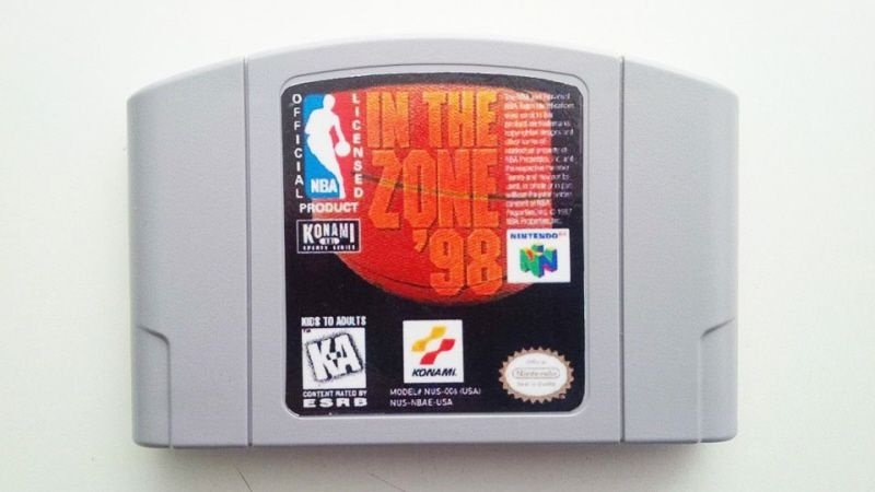 N64 NBA In The Zone 98 (usado)