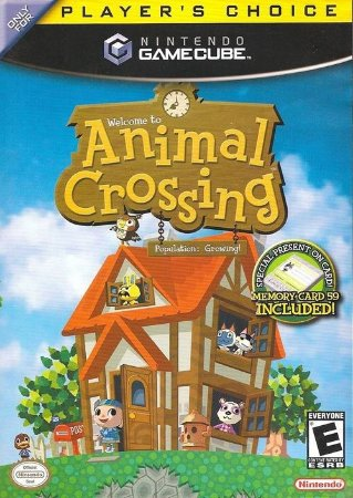GC Animal Crossing (usado/sem Memory card)
