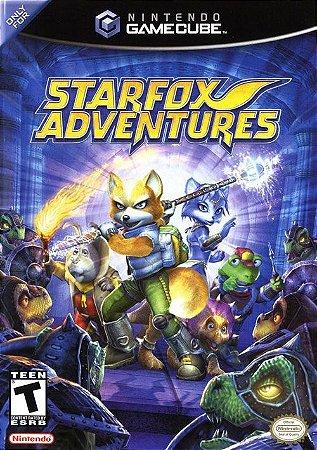GC Star Fox Adventures (usado/sem manual)