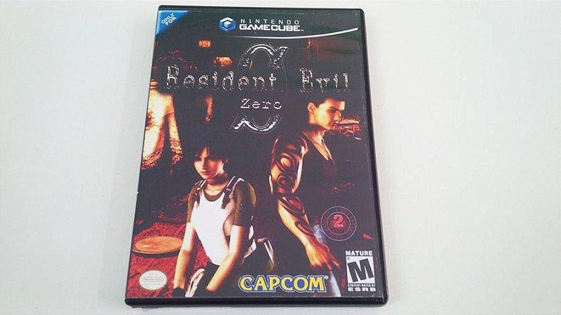 Resident Evil Zero - Gamecube (usado)
