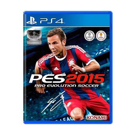 PES 2015 - Pro Evolution Soccer - PS4 (usado)