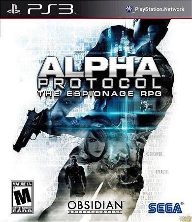 Alpha Protocol: The Espionage RPG - PS3 (usado)