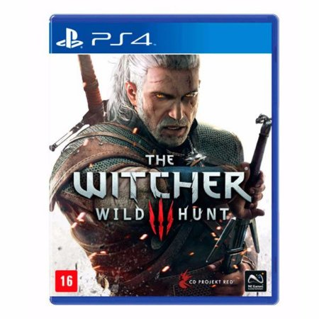 The Witcher 3: Wild Hunt - PS4 (usado)