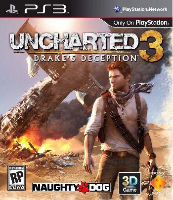 Uncharted 3: Drake´s Deception - PS3 (usado)