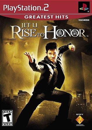 PS2 Jet Li - Rise to Honor