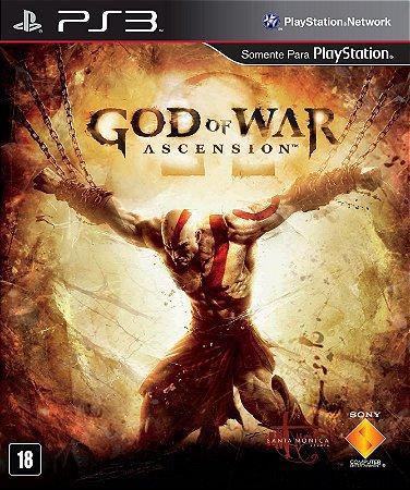 God of War: Ascension - PS3 (usado)