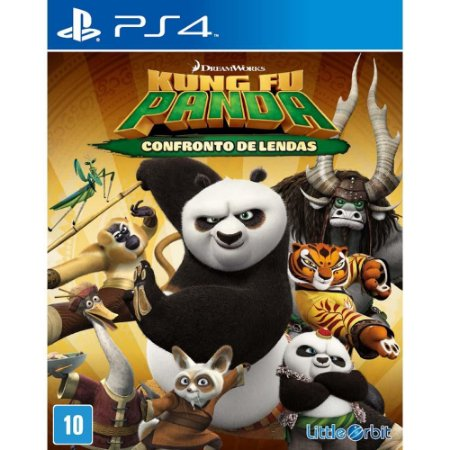 Kung Fu Panda: Confronto de Lendas - PS4