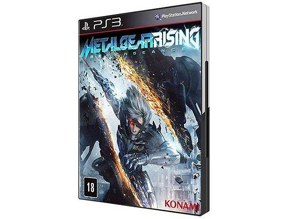 Metal Gear Rising: Revengeance - PS3 (usado)