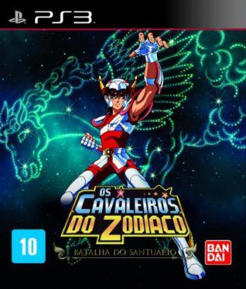 Cavaleiros do Zodíaco: Batalha do Santuário - PS3 (usado)