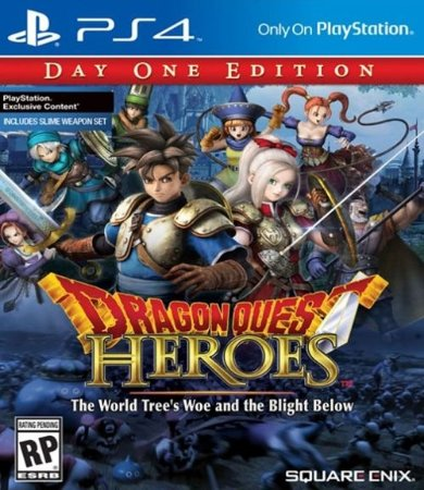 PS4 Dragon Quest - Heroes