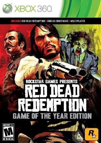 Red Dead Redemption: GOTY Edition - Xbox 360 (usado)