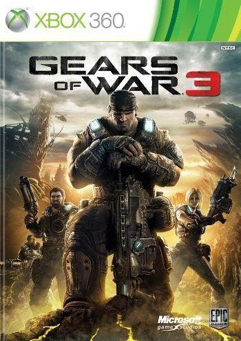 Gears of War 3 - Xbox 360 (usado)
