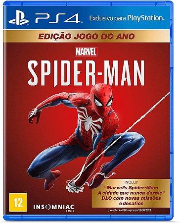 Marvel´s Spider-Man: GOTY Edition - PS4 (usado)
