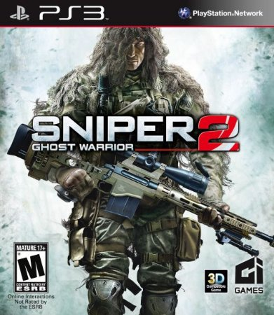 Sniper: Ghost Warrior 2 - PS3 (usado)
