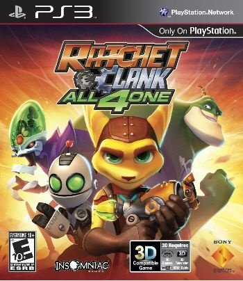 Ratcht & Clank: All 4 One - PS3 (usado)