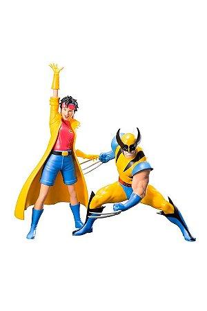 Wolverine e Jubilee X-Men 92: Two Pack ArtFX+ - Kotobukiya