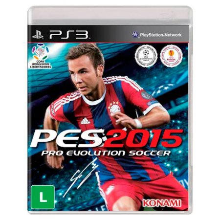 PES 2015: Pro Evolution Soccer - PS3 (usado)