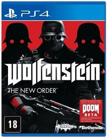 Wolfenstein: The New Order - PS4 (usado)
