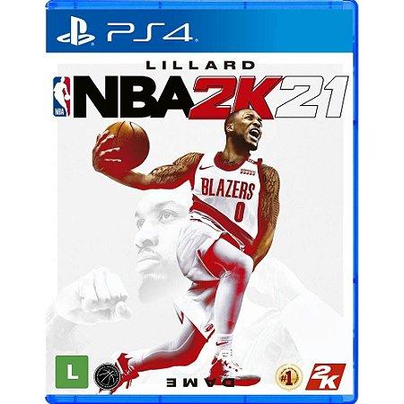 NBA 2K21 - PS4 (usado)