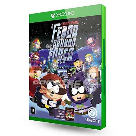 South Park: A Fenda Que Abunda Força - Xbox One (usado)