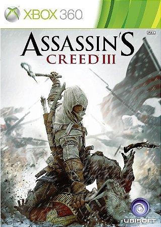 Assassin´s Creed 3 - Xbox 360 (usado)