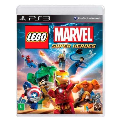 Lego Marvel Super Heroes - PS3 (usado)