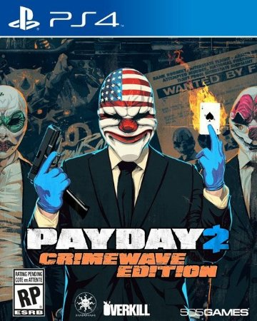 PS4  Payday 2 - Crimewave Edition
