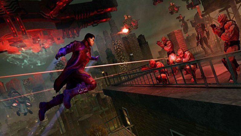 SAINTS ROW IV - RE-ELECTED E GAT OUT OF HEEL (PS4)