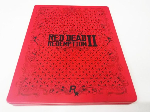 Red Dead Redemption 2: Steelbook - PS4 (usado)