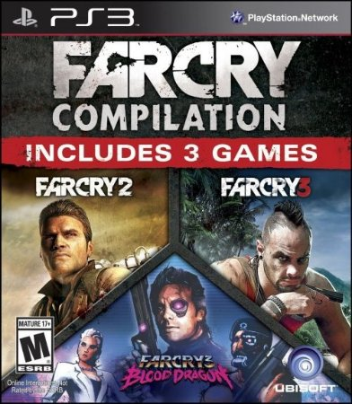 PS3 Far Cry - Compilation (usado)
