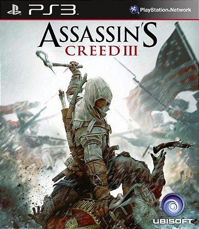 Assassin´s Creed III - PS3 (usado)