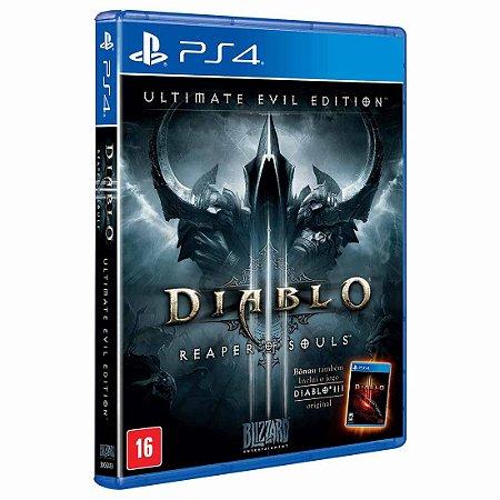 Diablo 3: Reaper of Souls - PS4 (usado)