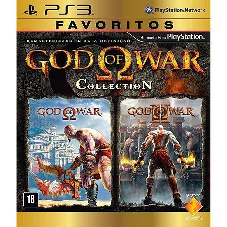 God of War: Collection Favoritos - PS3 (usado)