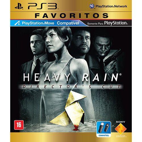 Heavy Rain: Favoritos - PS3 (usado)